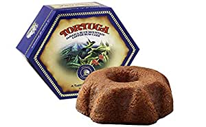 TORTUGA Caribbean Blue Mountain Rum Cake - 4 oz Rum Cake - The Perfect Premium Gourmet Gift for Stocking Stuffers, Gift Baskets, and Christmas Gifts - Great Cakes for Delivery