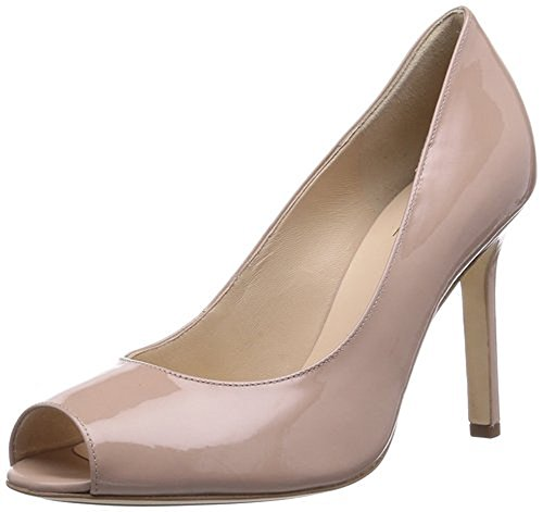 63 High Peep aus Damen Smart 109304 Patent Nude Pumps nacktem Heel und Nude 9 Lackleder schwarzem HOGL HO Toe xZAAqwpf