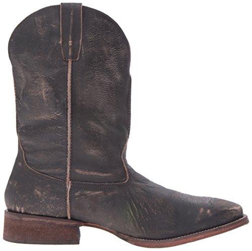 Roper Mens Infödda Arbete Boot Brown