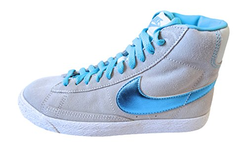 nike blazer mid vintage (GS) trainers 549552 007 sneakers shoes