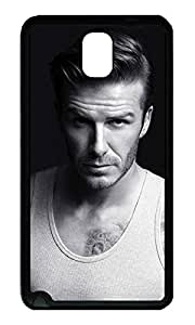 Note 3 Case, Galaxy Note 3 Case, [Perfect Fit] Soft TPU Crystal Clear [Scratch Resistant] David Beckham Top Creativity Back Case Cover for Samsung Galaxy Note 3 N9000 Cases