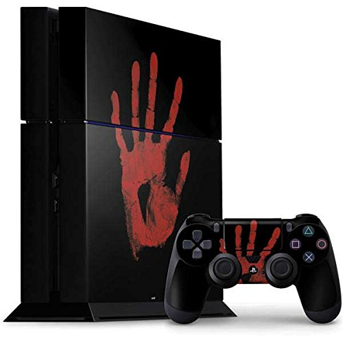 Illustration Art PS4 Console and Controller Bundle Skin