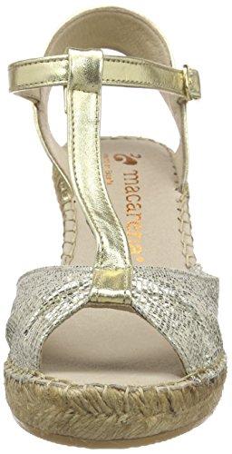 Macarena Ohio/Galaxy - Alpargatas Mujer Dorado - Gold (ORO/ORO)