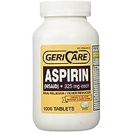 Bottled Aspirin 1000/bottle (NSAID) 325 mg. each