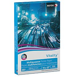 "Xerox High-Speed Copy Paper, 11"" x 17"", 20 Lb., 84 Brightness, Ream Of 500 Sheets"