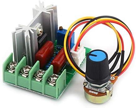 Ca 50-220v 2000w Scr Regulador de Voltaje El/éctrico Regulador de Temperatura//velocidad del Motor Regulador de Luz Regulador de Voltaje