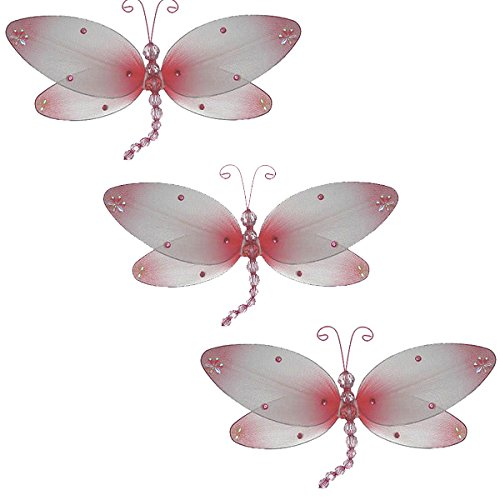 Dragonfly Hanging Nursery (Taylor Dragonfly Decoration _pink - small-10