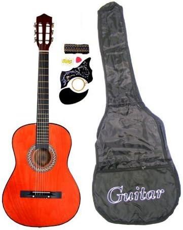 Guitarra acústica de 38 cm con diseño clásico, para principiantes ...