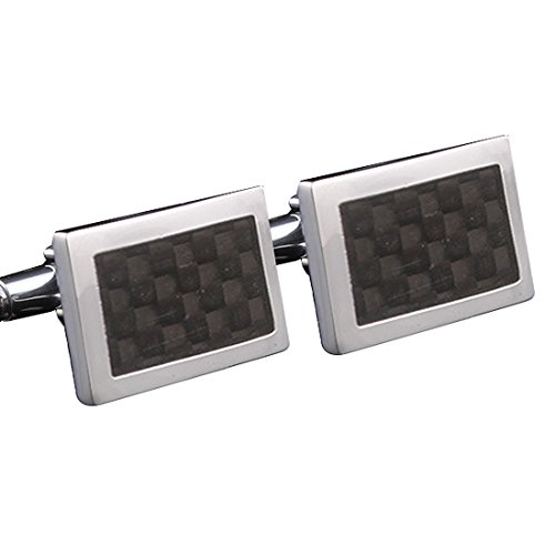 Leather And Silver Cufflinks - 5