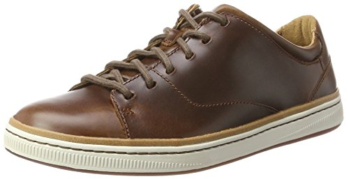 Clarks Norsen Lace, Scarpe Stringate Derby Uomo Marrone (Dark Tan Lea -)