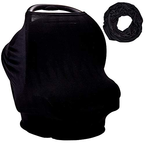 car seat cover black baby - 3