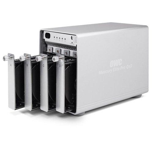 OWC Mercury Elite Pro Qx2 4-Bay Desktop RAID Enclosure by OWC (Image #3)