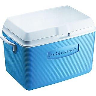Rubbermaid 2A15 MODBL Ice Chest; Blue, 48 qt. (48 Quart Rubbermaid Cooler)