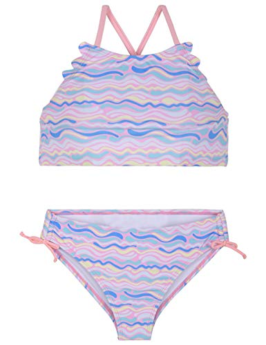Firpearl Girls Swimsuits Halter Bikini Two Piece Bathing