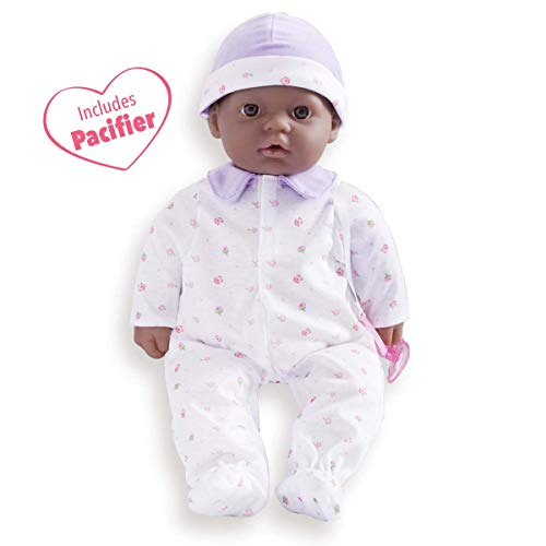 - JC Toys, La Baby 16-inch African American Washable Soft Baby Doll with Baby Doll Accessories - for Children 12 Months and Older, Designed by Berenguer