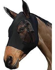 Weatherbeeta Stretch Bug Eye Saver With Ears (Full) (Black/Black)