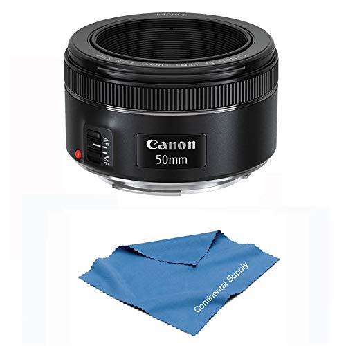 Canon EF 50mm f/1.8 STM Standard Autofocus Lens