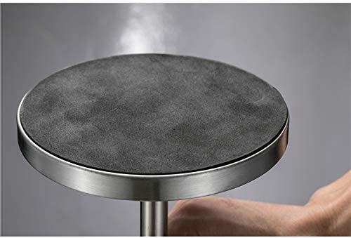 XiaoNUO ポータブルステンレス鋼製伸縮灰皿防風灰皿ステンレス鋼ホームメタル卓上アクセサリー男ギフト喫煙 (Color : Silver)