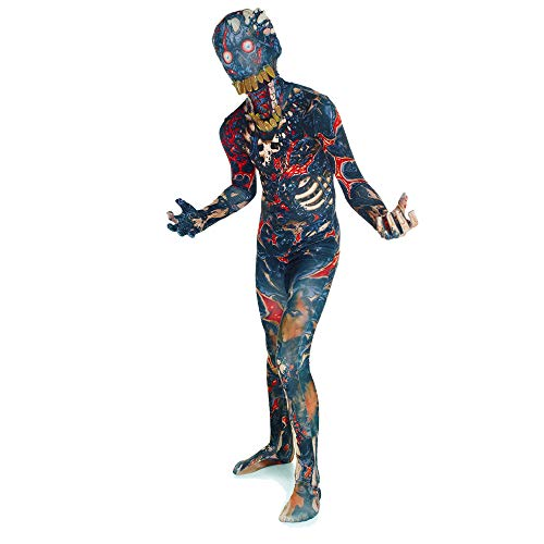 Morphsuits Kids Burnt Zombie Monster Costume -