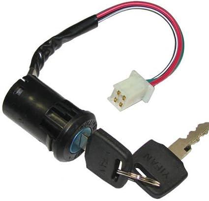 ATV Key Ignition switch 4 wire 50 70 90 110 125 150 200 250 CC TaoTao SUNL NEW
