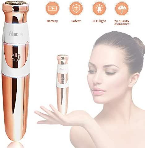 Facial Hair Remover,Electric Hair Removal for Women's Face Lip Armpit Chin Cheek Arm Leg and Full Body