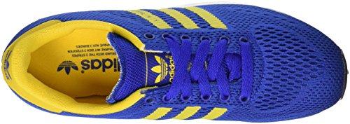 Adidas Originals La Tränare Em Löpartröja Tränare Gymnastik Blå Gul Vit S76801