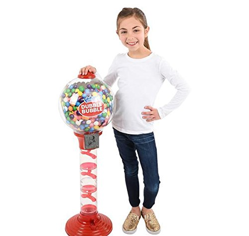 3 FT DOUBLE BUBBLE METAL GUMBALL MACHINE, Case of 1]()