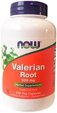 NOW Supplements, Valerian Root Valeriana officinalis 500 mg, Herbal Supplement, 250 Veg Capsules