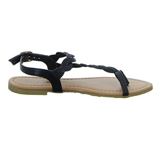 CB5324 living Schwarz Absatz bis 30mm Damen Sandalette 1 Updated Schwarz ZZwxrqB5S