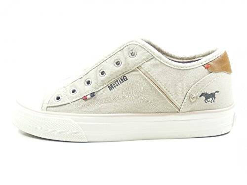 Donna Mustang 1272 Sneaker Beige Infilare 401 2 w6X46aq