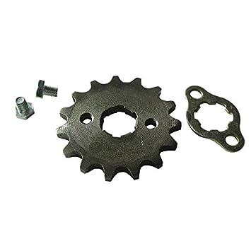 JRL 1 420 16T 17mm Front Engine Sprocket For 125 140 150 160cc Lifan Loncin Dirt Bike