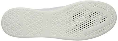 A Basses Weiß Femme D Baskets Jaysen silverc0007 white Geox 4wZqCE