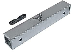 N.12Dispensadores señuelos ratones Masterbox Metal Slim para derattizzazione 6,5x 6,5x 41cm