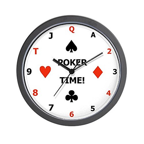 - CafePress - Poker Time Clock - Unique Decorative 10