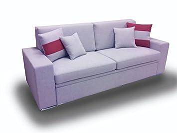 Ponti Divani Schlafsofa mit ausziehbarem Bett und eine Matratze ...