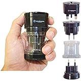 KRIËGER® Small Size Worldwide International Travel Plug Adapter Kit- 150+ Countries