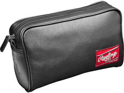 Briefcase Baseball Leather (Rawlings Heart of the Hide Travel Kit, Black)