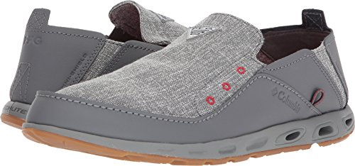 Columbia PFG Men's Bahama Vent LOCO II PFG Boat Shoe, ti Grey Steel, Rocket, 10 Regular US