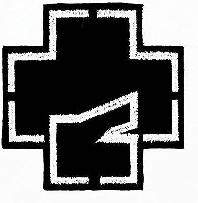 MNC parche negro Rammstein música banda Heavy Metal Punk Rock Logo ...