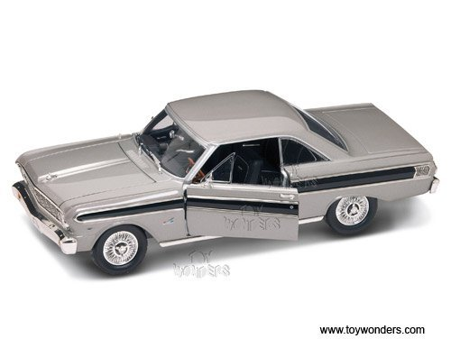(92708sv Yatming - Ford Falcon Hard Top (1964, 1:18, Silver) 92708 Diecast Car Model Auto Vehicle Die Cast Metal Iron Toy Transport )
