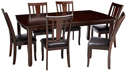 24 7 Shop at Home 247SHOPATHOME IDF-3336T-7PC-SET Dining-Room-Sets 7-Piece, Brown