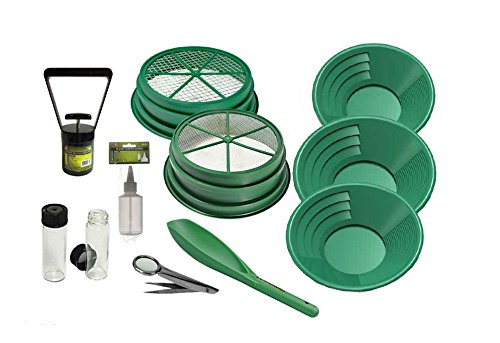 11pc Green Large Gold 1/2