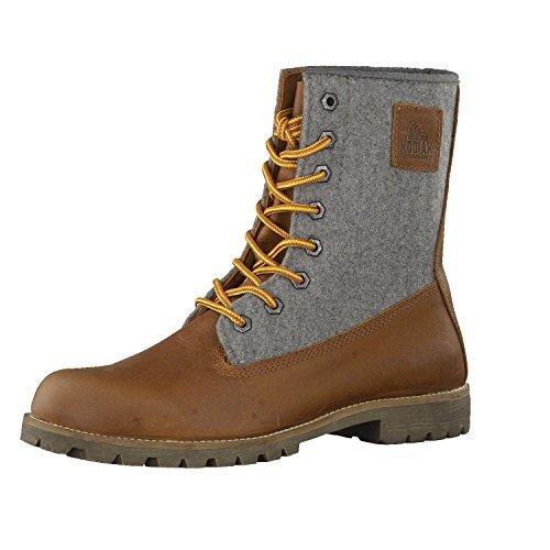 Kodiak Herren 422091 Outdoor Freizeitschuh Heritage Wool Caramel/Grey