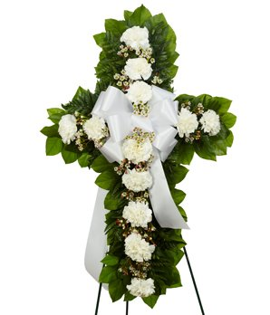 Larger Than Life Arrangement - Same Day Funeral Flowers Delivery - Condolence Flowers - Flowers For Funeral - Funeral Flower Arrangements - Funeral Plants