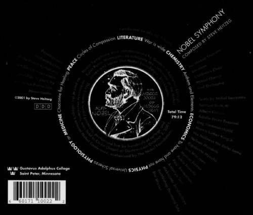 Heitzeg: Nobel Symphony (World Premiere Recording) (Mankato Stores)
