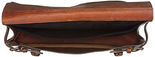 Messenger Vintage Unisex H adulto Republiq x T Bolsos Black 9x30x45 Braun Royal B cm Cognac bandolera q5Cw1pUwx