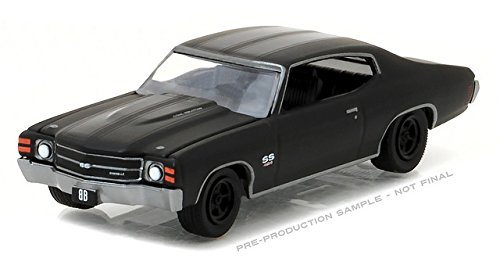 Chevelle Collectibles (1/64 1971 Chevrolet Chevelle SS 454 , Black Bandit Series 17)