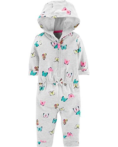 Carter's Baby Girls' 1 Pc 118g631 (24 Months, Butterfly/Grey) from Carter's