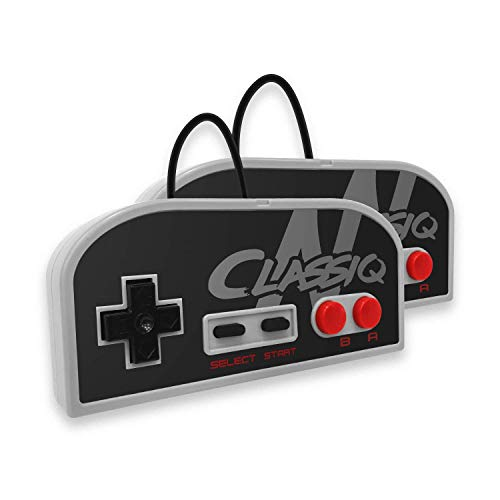 Old Skool CLASSIQ N HD Console Compatible with NES- Clone System Plays 8-bit game cartridges in HD