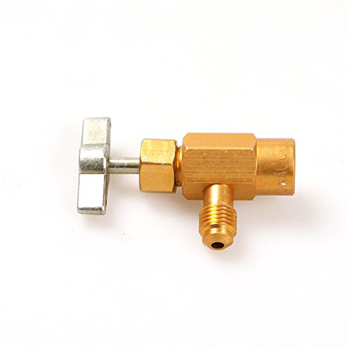 Price comparison product image 1 / 4 SAE M14 Thread Adapter Asia's R-134a Refrigerant Can Bottle Tap Opener Valve Tool